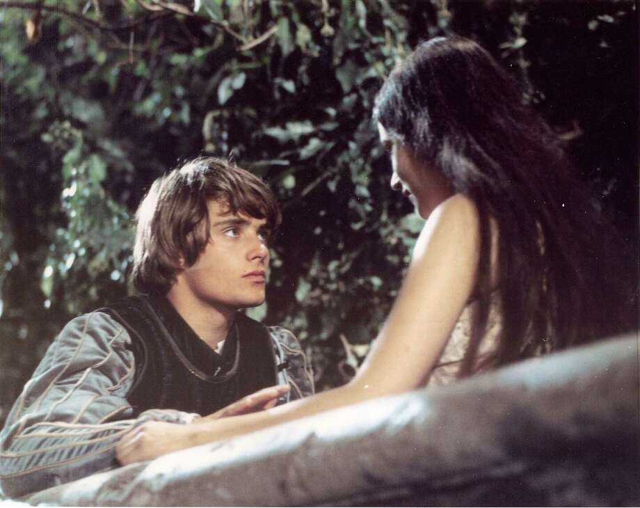 "Leonard Whiting and Olivia Hussey in ""Romeo and Juliet"" Photo: Castro Theatre"