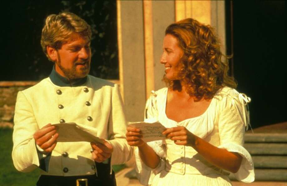 Branagh's best -- with Emma Thompson in MUCH ADO ABOUT NOTHING. Photo: MGM
