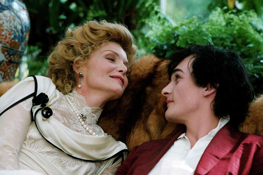 CHERI: With Michelle Pfeiffer and Rupert Friend. Exceptional film, entirely overlooked, about an older woman and a younger man. Photo: Bruno Calvo, Miramax