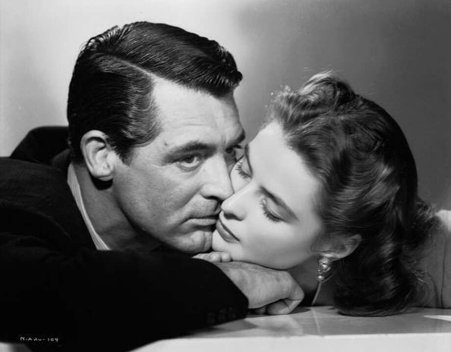 NOTORIOUS -- a troubled love story, starring Ingrid Bergman and  Cary Grant. Photo: John Kobal Foundation, Getty Images