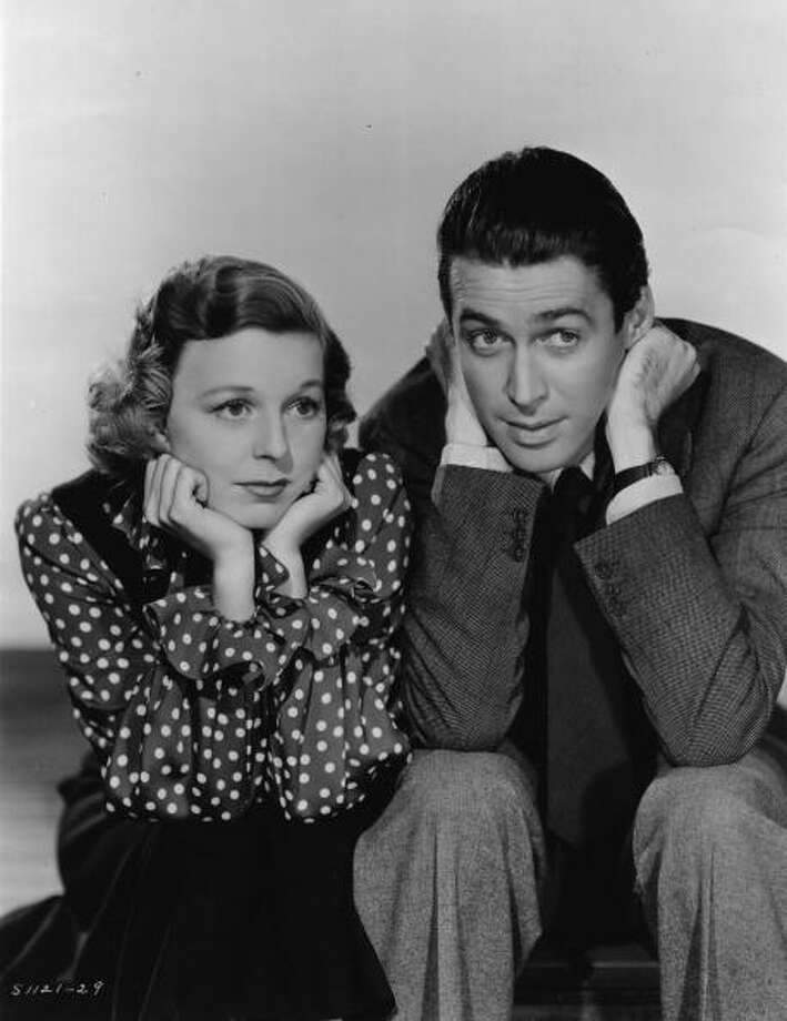 SHOP AROUND THE CORNER: James Stewart and Margaret Sullavan  directed by Ernst Lubitsch for MGM. Photo: Hulton Archive, Getty Images
