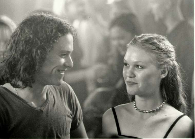 10thingsihateaboutyou Heathledger Juliastiles: 10 Things I Hate About You -- With Heath Ledger And Julia