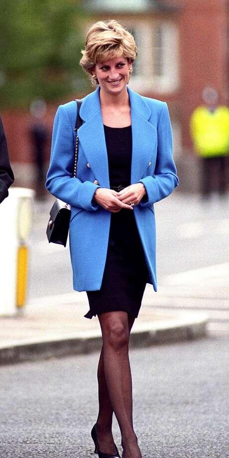 Princess Diana at Prince William first day at Eton. Photo: Tom Wargacki, WireImage