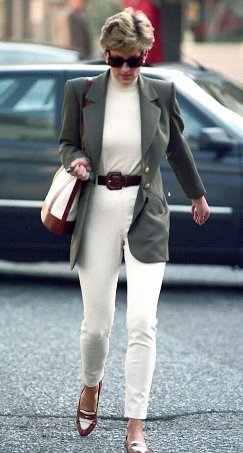 Princess Diana shopping in Knightsbridge. ) Photo: Tom Wargacki, WireImage