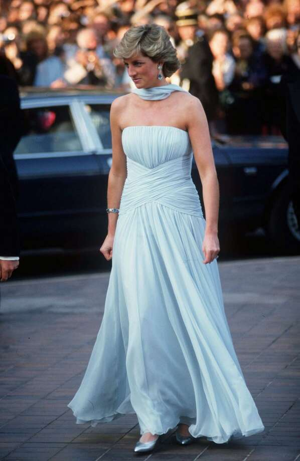 Princess Diana At The Cannes Film Festival, France. Photo: Tim Graham, Tim Graham/Getty Images
