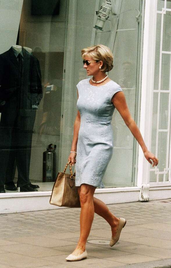 LONDON, ENGLAND:  Diana, Princess of Wales shopping on Bond Street, London in 1997. (Photo by Anwar Hussein/WireImage) Photo: Anwar Hussein, WireImage
