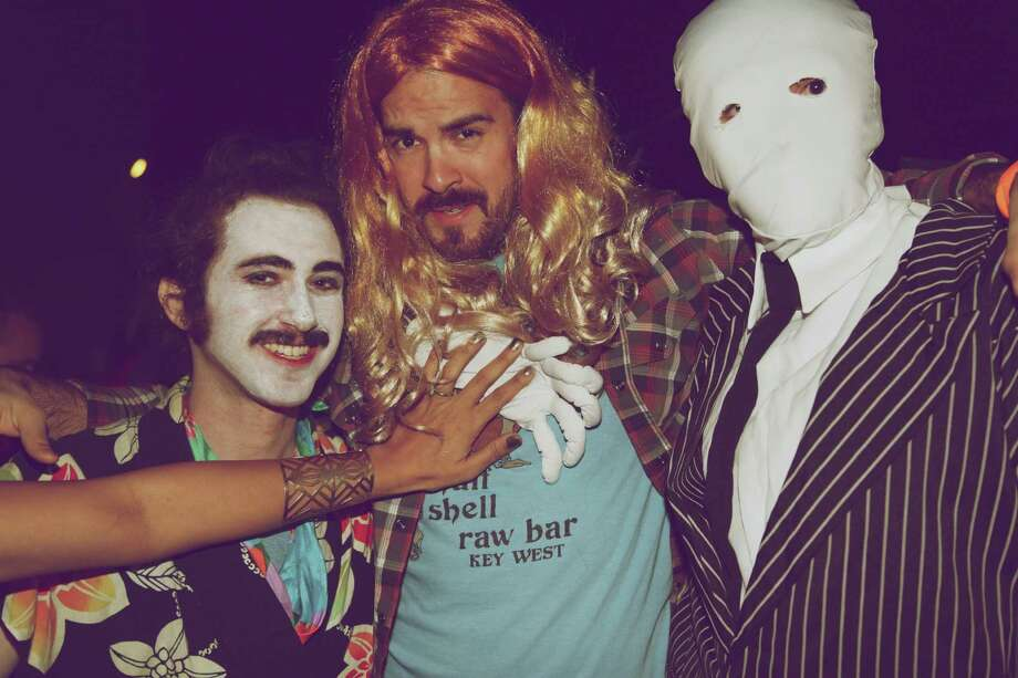 Revelers turned out for Falloween's Creepy Classic Carnival at Hi Tones bar. Photo: Xelina Flores-Chasnoff