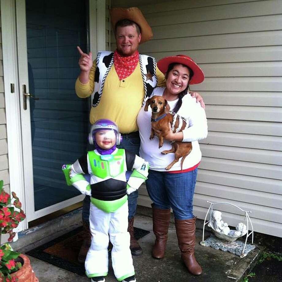 Woody, Jessie, Buzz and SLinky Dog