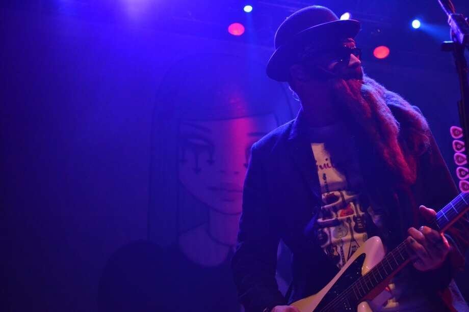 Halloween night was a memorable one for Alkaline Trio fans in Houston. Photo: Matthew Cole Cooper