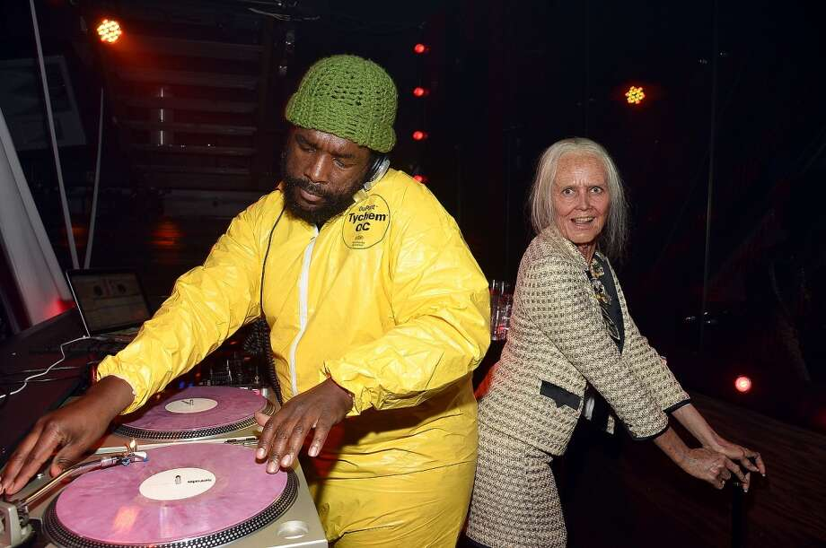 Questlove and Heidi Klum. Photo: Mike Coppola