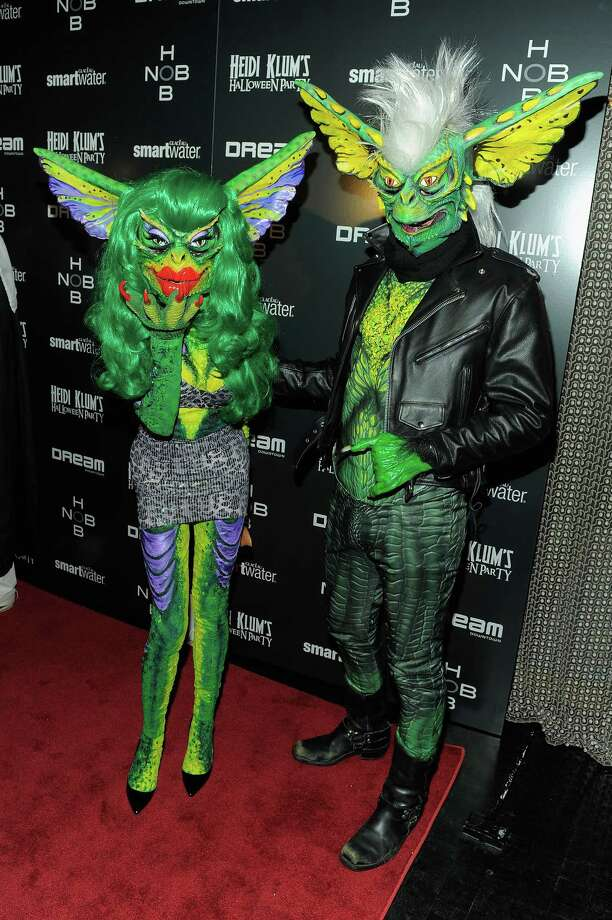 Phillipe & David Blond attend Heidi Klum's 12th annual Halloween party at the PH-D Rooftop Lounge at Dream Downtown on October 31, 2011 in New York City. Photo: Jemal Countess, Getty Images / 2011 Getty Images