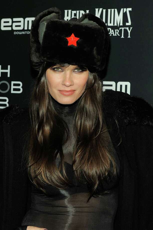 Model Larissa Bond attends Heidi Klum's 12th annual Halloween party at the PH-D Rooftop Lounge at Dream Downtown on October 31, 2011 in New York City. Photo: Jemal Countess, Getty Images / 2011 Getty Images