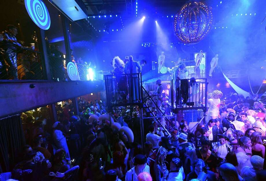 A general view of atmosphere during Shutterfly Presents Heidi Klum's 14th Annual Halloween Party sponsored by SVEDKA Vodka and smartwater at Marquee on October 31, 2013 in New York City. Photo: Mike Coppola