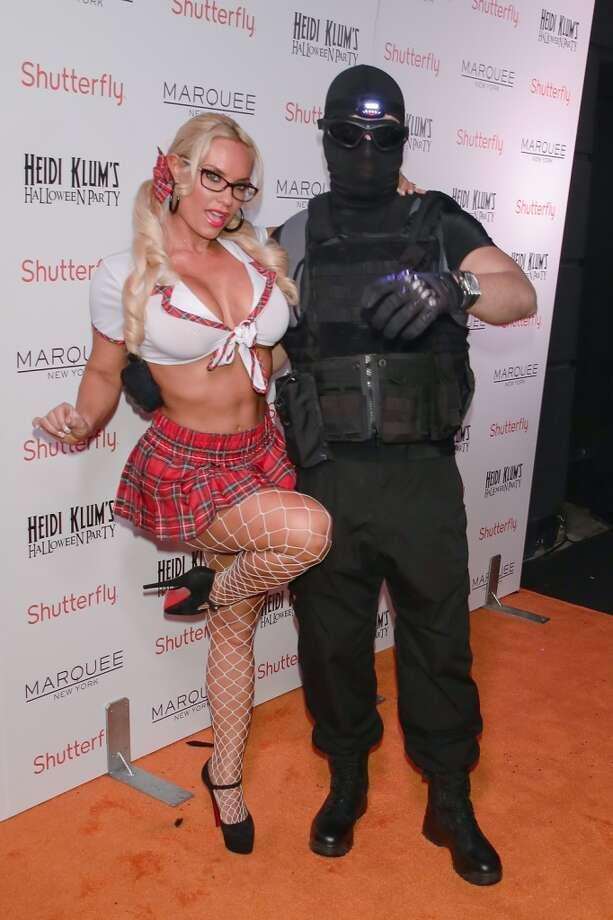 Coco Austin (Coco-T) and Ice-T. Photo: Andrew Toth, FilmMagic