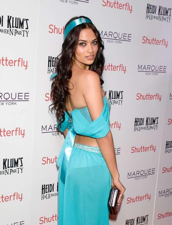 Model Shanina Shaik. Photo: Andrew Toth, FilmMagic
