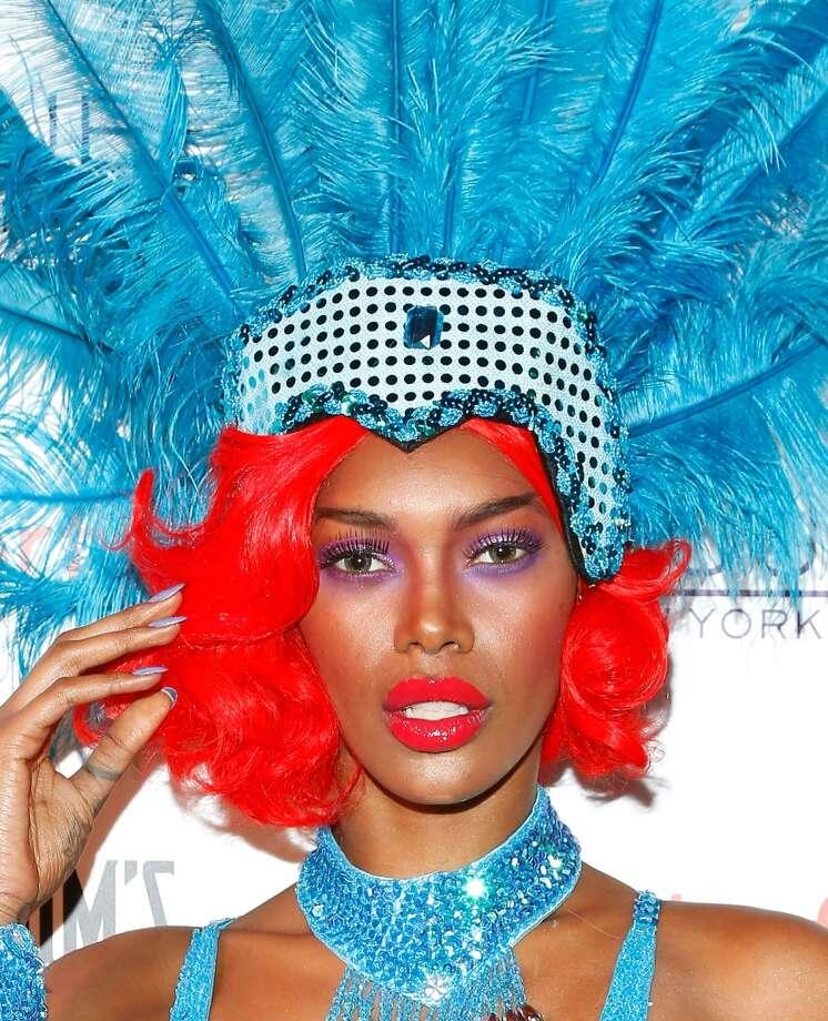 Model Jessica White. Photo: Cindy Ord