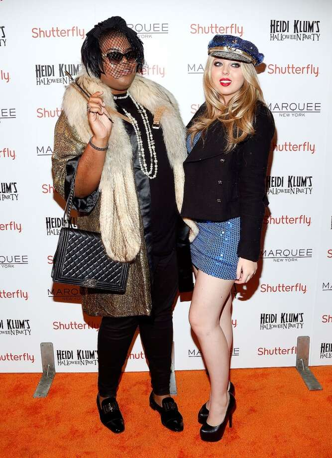 EJ Johnson, left, and Tiffany Trump. Photo: Cindy Ord