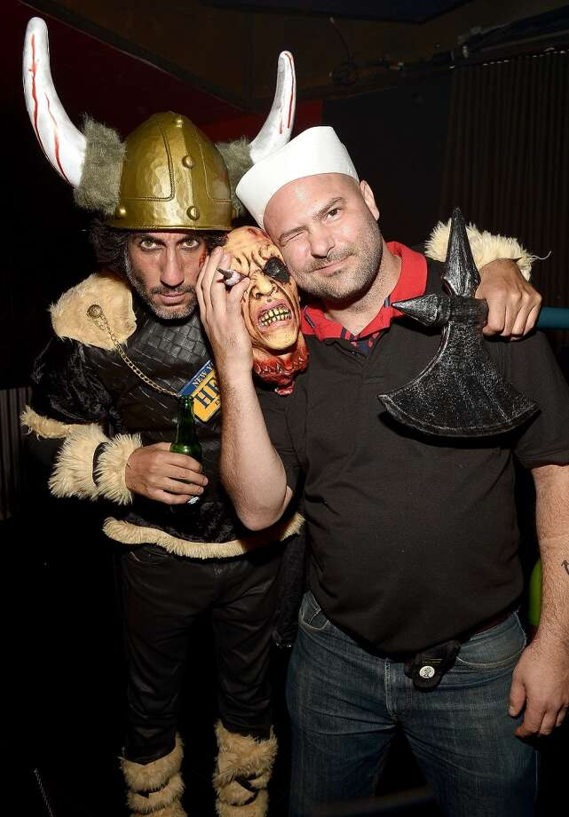 Photographers Dimitrios Kambouris, left, and Michael Loccisano. Photo: Mike Coppola