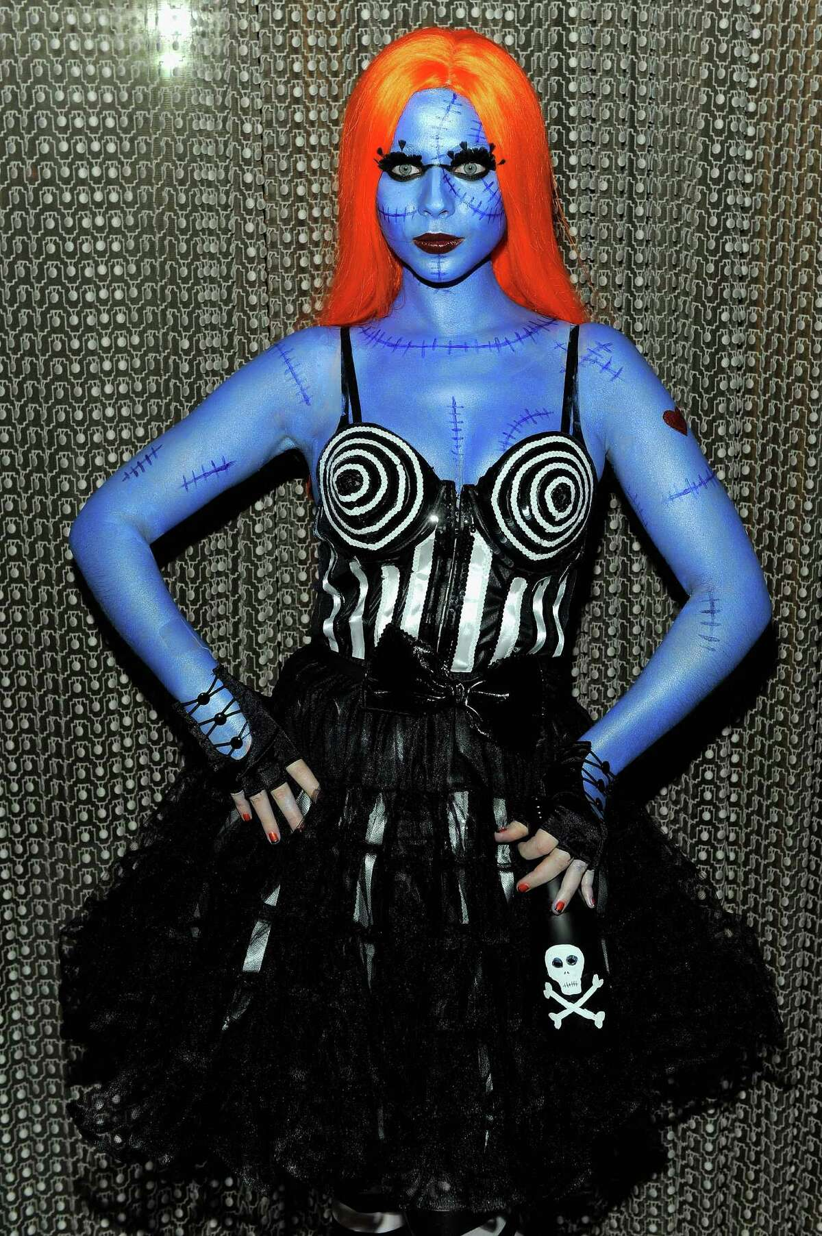Michelle Tractenberg attends Heidi Klum's 12th annual Halloween party at the PH-D Rooftop Lounge at Dream Downtown on October 31, 2011 in New York City.