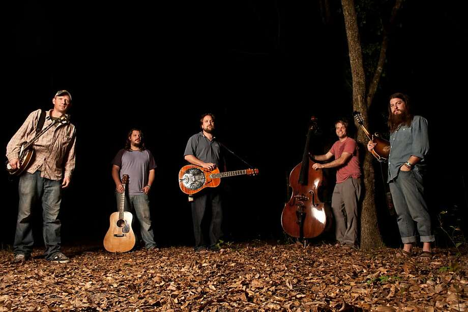 Mandolinist Paul Hoffman (right) has attracted both acclaim and criticism for the lyrics he has written for Greensky Bluegrass. Photo: Courtesy Of The Band
