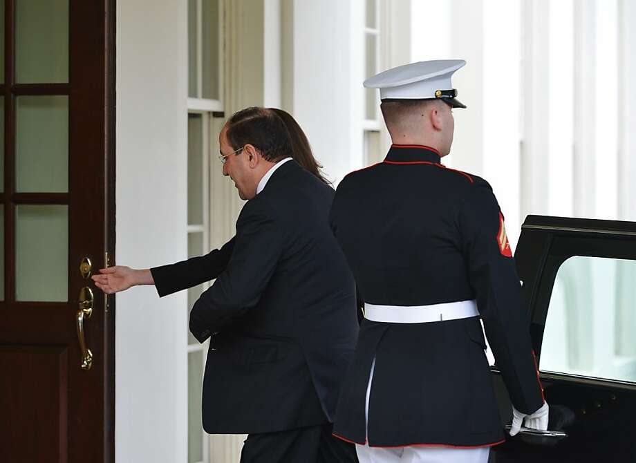 Iraqi Prime Minister Nouri al-Maliki arrives for a White House meeting. Photo: Mandel Ngan, AFP/Getty Images