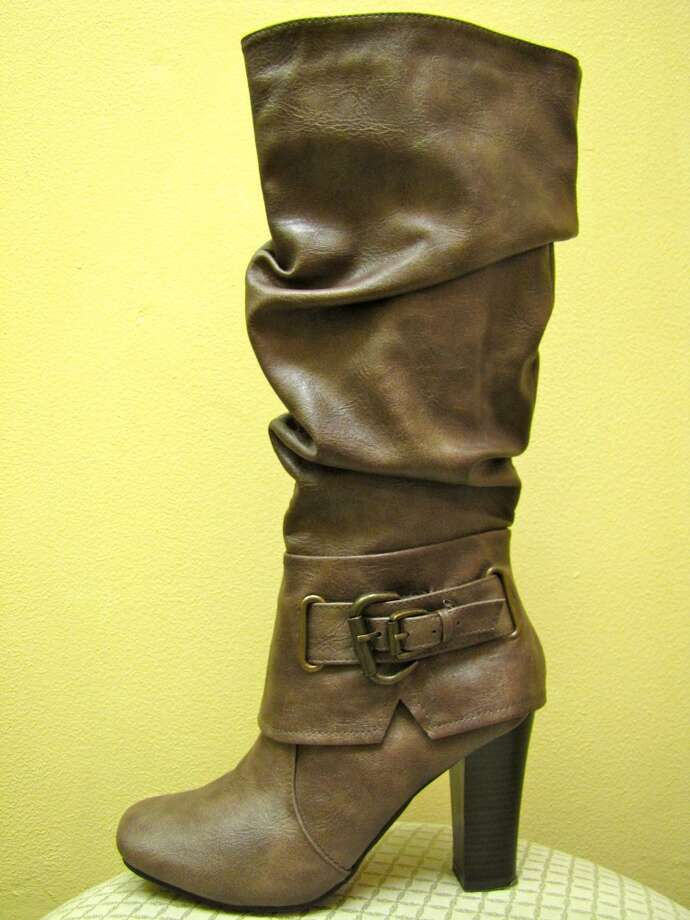 Slouchy brown boot, $28, Act II Consignment, Beaumont Photo: Cat5