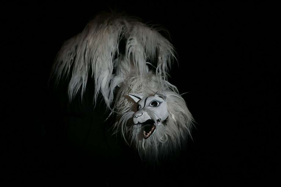 "A fox puppet in Basil Twist's ""Dogugaeshi,"" based on an extinct Japanese style of puppet theater. Photo: Richard Termine"