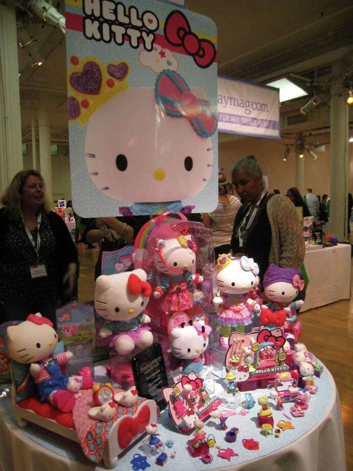 The reimagined Hello Kitty now comes in a variety of super soft plush options. Larger ones retail for about $15, while a three-pack of smaller once runs $11 (there are three packs to choose from). (MCT) ORG XMIT: 1145003 Photo: HANDOUT / MCT