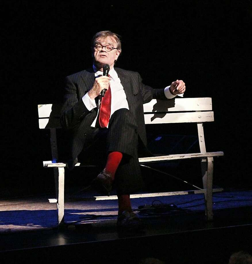 Garrison Keillor Photo: Prairie Home Productions