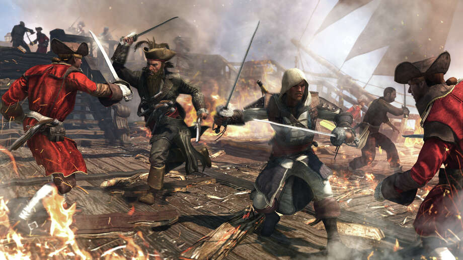 "This video game image released by Ubisoft shows a scene from ""Assassin's Creed IV: Black Flag."" (AP Photo/Ubisoft) ORG XMIT: NYET303 / Ubisoft"