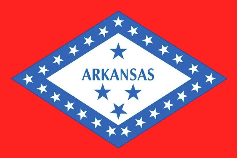Arkansas state flag Photo: Encyclopaedia Britannica/UIG, Getty Images/Universal Images Group / Universal Images Group