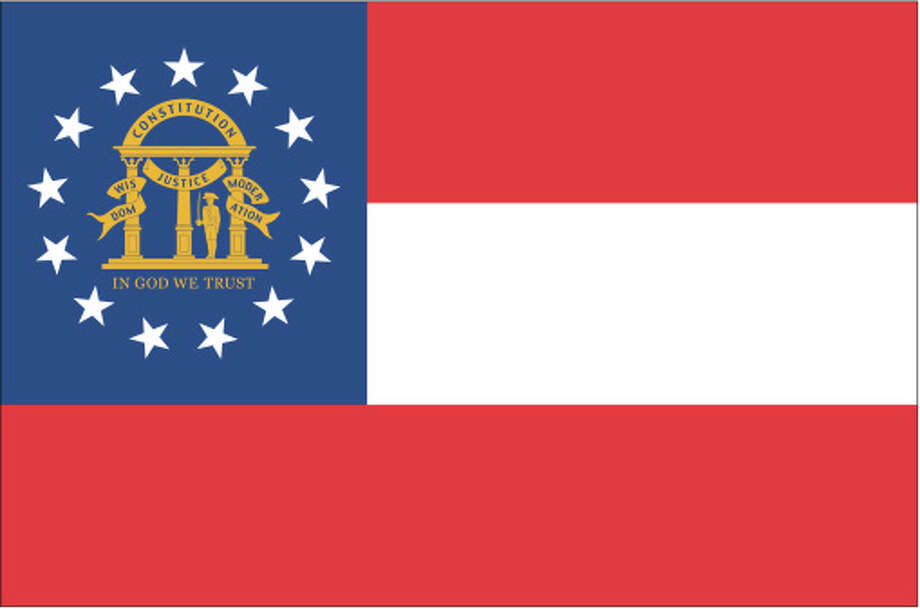 Georgia flag Photo: Globe Turner, LLC, Getty Images/GeoNova Maps / GeoNova Maps