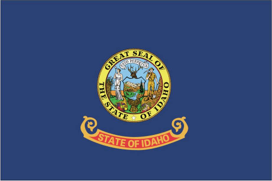 Idaho flag Photo: Globe Turner, LLC, Getty Images/GeoNova Maps / GeoNova Maps
