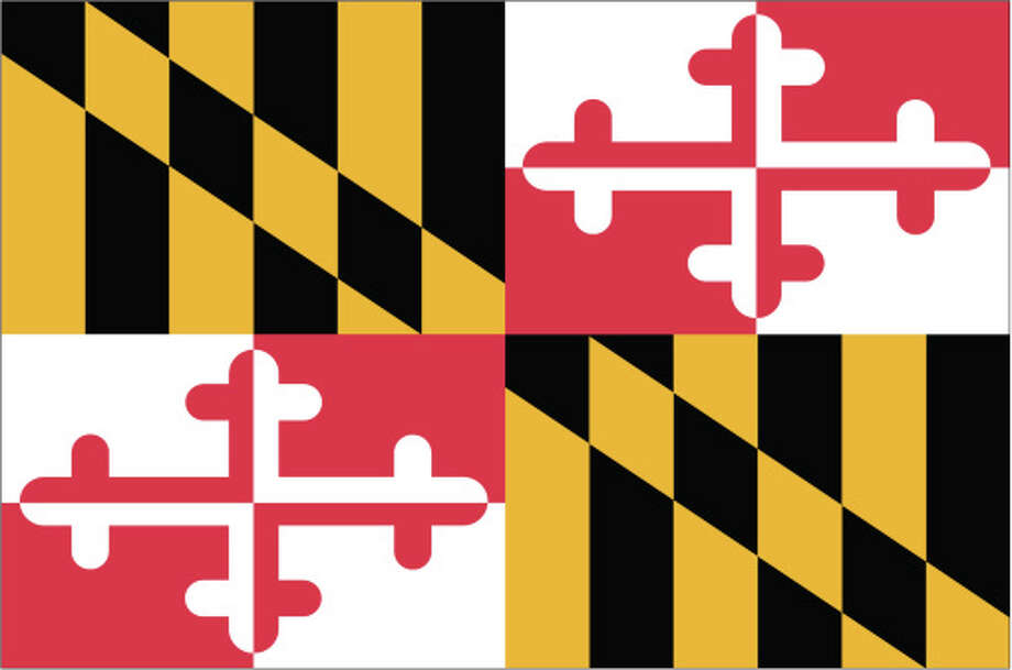 Maryland flag Photo: Globe Turner, LLC, Getty Images/GeoNova Maps / GeoNova Maps