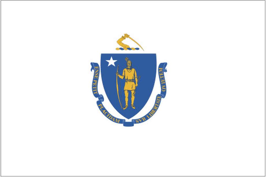Massachusetts flag Photo: Globe Turner, LLC, Getty Images/GeoNova Maps / GeoNova Maps
