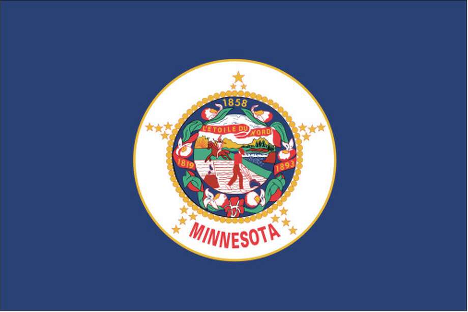 Minnesota flag Photo: Globe Turner, LLC, Getty Images/GeoNova Maps / GeoNova Maps
