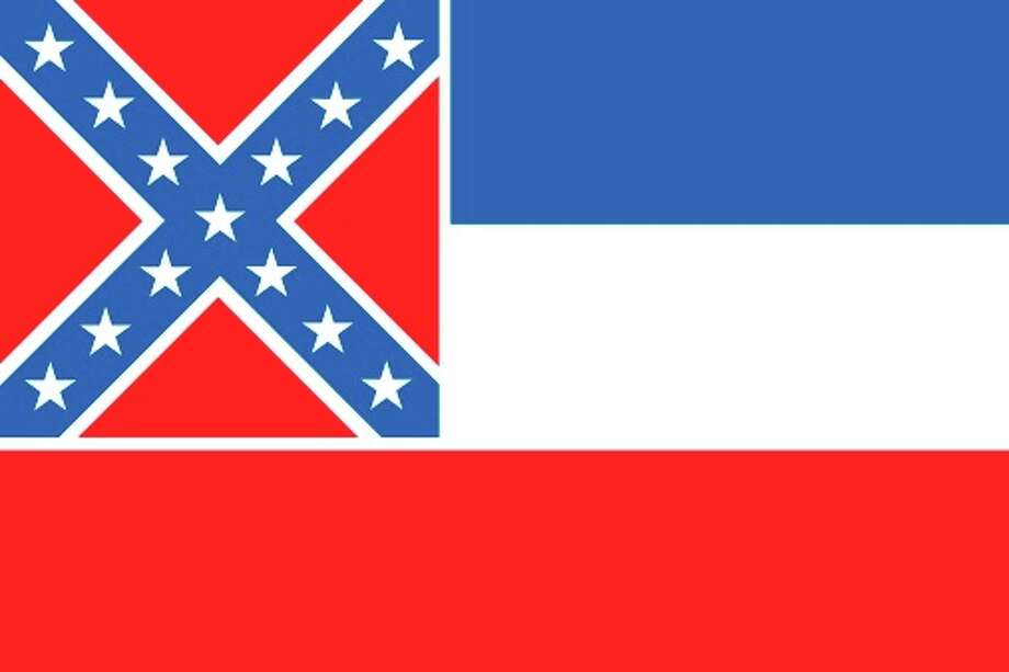 Mississippi state flag Photo: Encyclopaedia Britannica/UIG, Getty Images/Universal Images Group / Universal Images Group