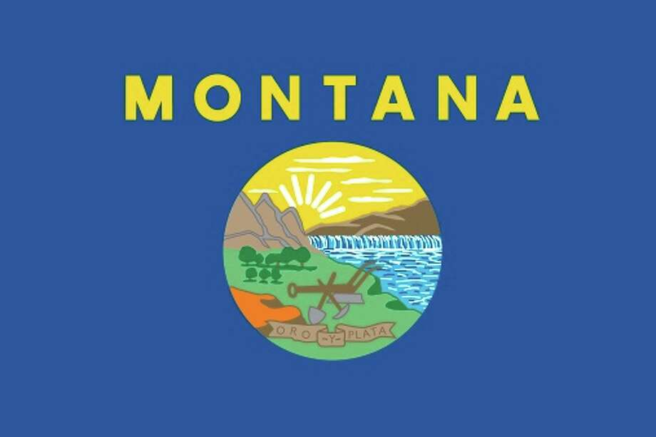 Montana state flag Photo: Encyclopaedia Britannica/UIG, Getty Images/Universal Images Group / Universal Images Group