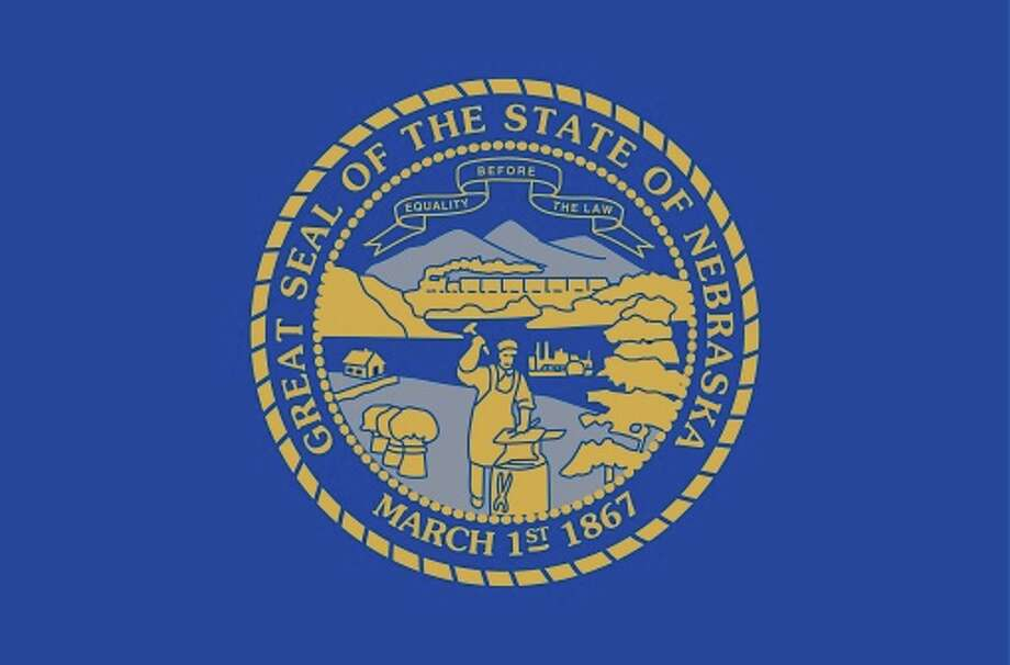 Nebraska state flag Photo: Encyclopaedia Britannica/UIG, Getty Images/Universal Images Group / Universal Images Group