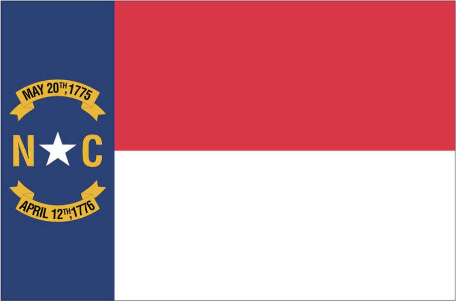 North Carolina flag Photo: Globe Turner, LLC, Getty Images/GeoNova Maps / GeoNova Maps