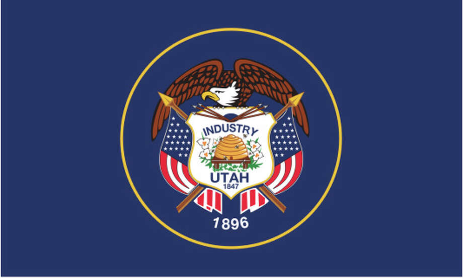 Utah flag Photo: Globe Turner, LLC, Getty Images/GeoNova Maps / GeoNova Maps