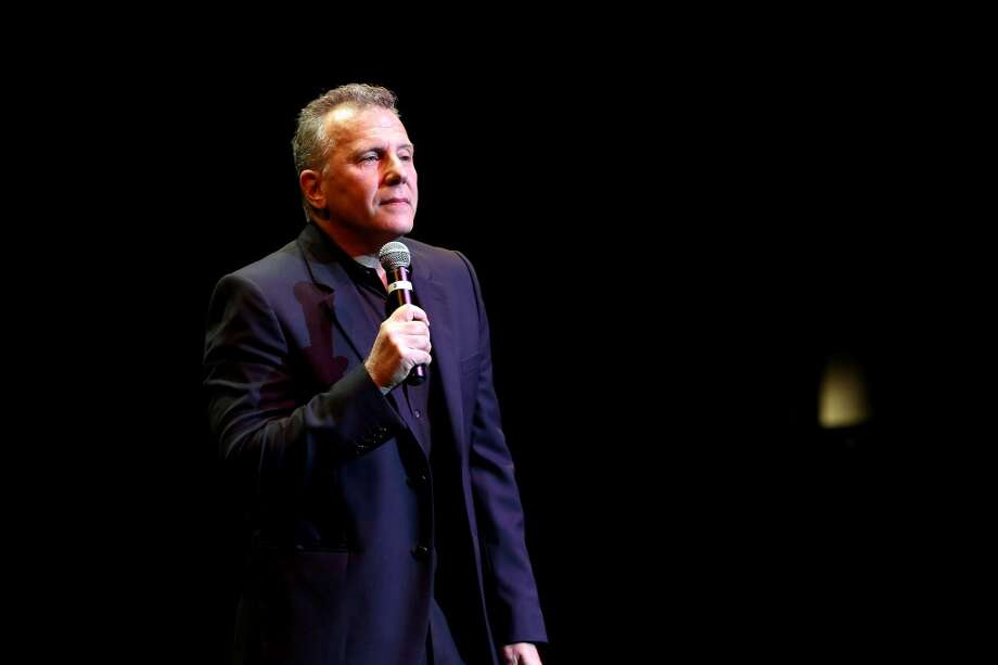 Comedian Paul Reiser, who is returning to stand-up after more than 20 years, performs at a benefit for Mikey's Way Foundation at Stamford's Palace Theatre in Stamford, Conn., on Saturday, Nov. 2, 2013. Photo: Jonathan Leibson, WireImage