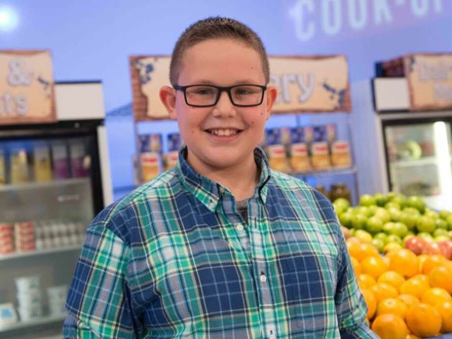 Hunter Zampa, 13, of Stamford, who recently appeared on Food Network'€™s Rachael vs. Guy Kids Cook-Off will be at the Touch-A-Truck and Chili Cook-Off at the Stamford Museum and Nature Center, Nov. 3, 2013. .