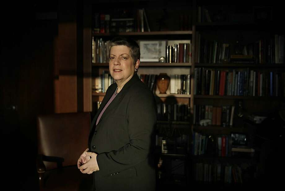 "New UC President Janet Napolitano envisions California and the university leading the way to ""a society that is more prosperous, more enlightened."" Photo: Lea Suzuki, The Chronicle"