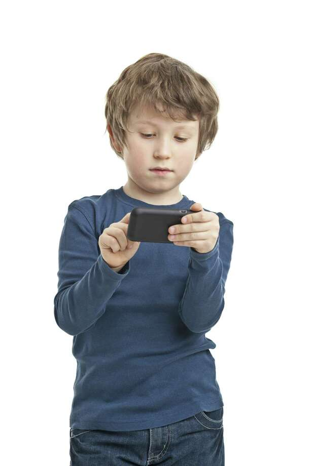 More children have access to mobile devices. Photo: Getty Images