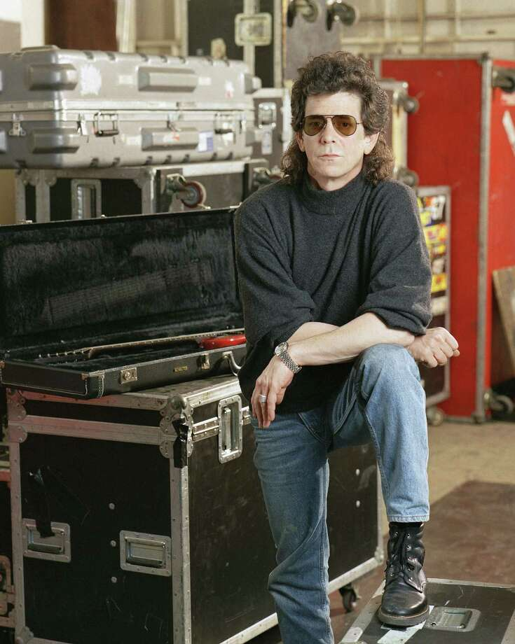 FILE - In a  March 27 1989 file photo, musician Lou Reed poses at the American Sound Studio in New York. Reed's literary agent Andrew Wylie says the legendary musician died Sunday morning, Oct. 27, 2013 in Southampton, N.Y., of an ailment related to his recent liver transplant. He was 71.  (AP Photo/Wyatt Counts, File) ORG XMIT: NY118 Photo: WYATT COUNTS / AP