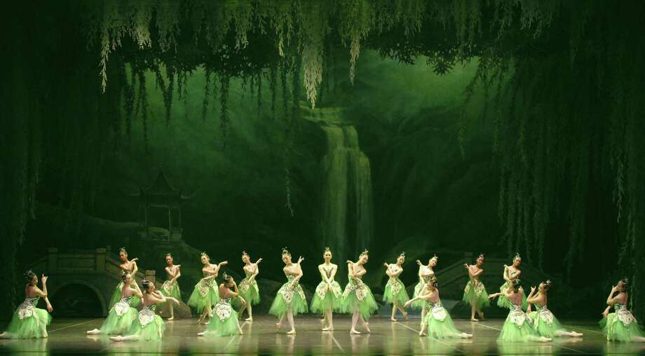 """Society for the Performing Arts presents the Houston premiere of Shanghai Ballet in """"The Butterfly Lovers"""" on Tuesday at Jones Hall. Photo: Courtesy Columbia Artists Mgmt / ONLINE_YES"""