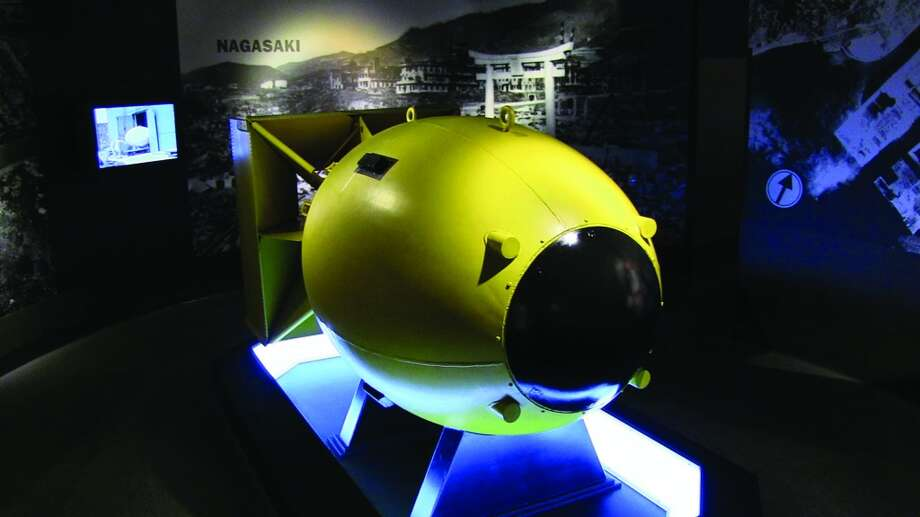 Where else can you see an actual casing of an atomic bomb from WWII? The U.S. military was prepared to drop more than two, if necessary. It's on view at Fredericksburg's National Museum of the Pacific War.