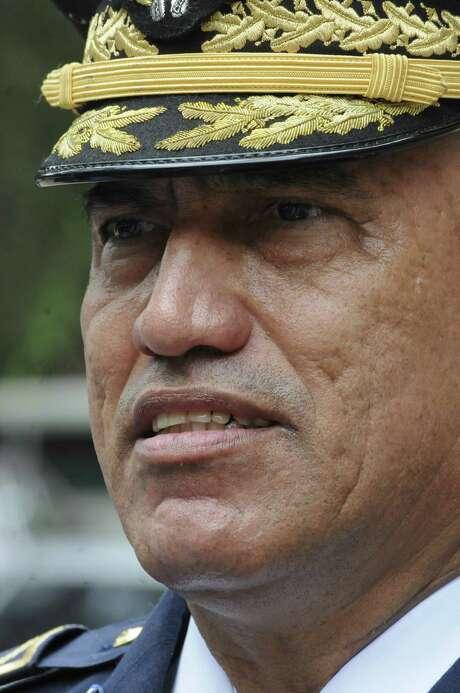 Honduras Police Chief Gen. Juan Carlos Bonilla Photo: Fernando Antonio / AP