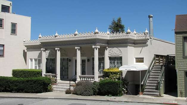 Greek revival hollywood flair s f hill sfgate for King s fish house corona